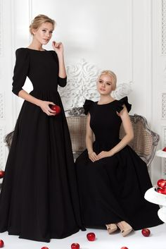 Платье «Леди Ди» черное— 24 990 рублей, Платье «Кенди» черное — 27 990 рублей