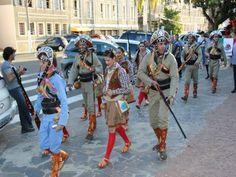 O folclore do Ceara  no festival da cultura brasileira em Gravataí - BRASIL