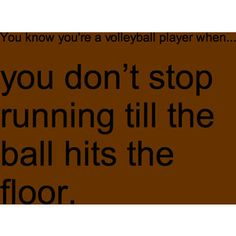 you know you're a volleyball player when - Google Search