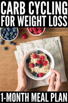 The Carb Cycling Diet for Beginners: 30 Day Carb Cycling Recipes, # Beginners # . - The Carb Cycling Diet for Beginners: 30 days carb cycling recipes, - Weight Loss Meals, Diet Plans To Lose Weight, How To Lose Weight Fast, Weight Gain, Reduce Weight, Diet Plan For Weight Loss, Clean Eating Recipes For Weight Loss, Eating For Weightloss, Lose Fat