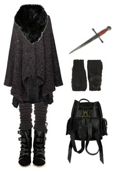 """""""Night gathers, and now my watch begins"""" by shortcuttothestars ❤ liked on Polyvore featuring moda, Isabel Marant, Falke, Bolongaro Trevor, The Row, ASOS, Dorothy Perkins y VIPARO"""