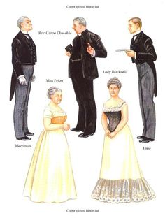 The Importance of Being Earnest Paper Dolls (Dover Paper Dolls): Brenda Sneathen Mattox: 9780486419411: Amazon.com: Books