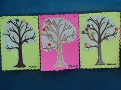 Árvore de incentivo lição de casa