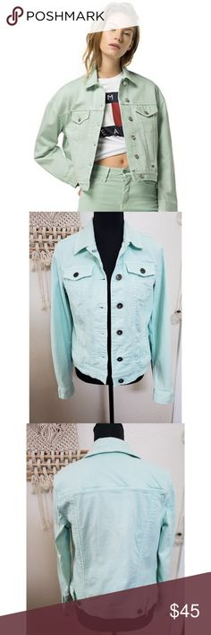 5a60c0c4 Tommy Hilfiger Pastel Jean Jacket NWOT, perfect condition! No visible  tears, marks or