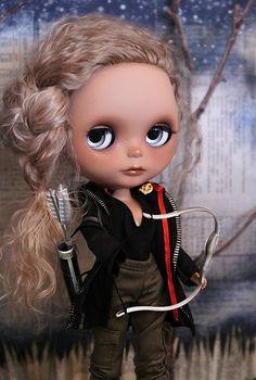 Blythe as Katniss!