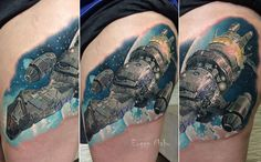 I stumbled on plenty of good Firefly tattoo in the past few years while browsing the web, but I think this is the most beautiful and detailed one I've seen so far! Wow, just wow! The tattoo w…