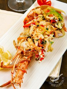 Antipasto, Fish And Seafood, Food Menu, Street Food, Finger Foods, Italian Recipes, Shrimp, Nom Nom, Buffet