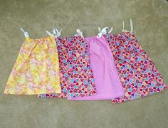 Craft A Spell: Project Yesu Pillowcase Dresses