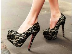I totally need these! I think they would look awesome with my black lace dress!!!