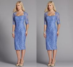 Cheap Mother Of The Bride Dresses 2015 Formal Custom Made Plus Size Wedding Party Dress Crystals Cap With 1/2 Sleeves Long Mother Of The Bride Dresses With Jacket Al7535 Knee Length Mother Of The Bride Dresses From Weddingmuse, $129.95| Dhgate.Com