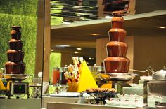 Chocolate Fountain Dessert Station at Midas Cafe, Midas Hotel, Midas Casino, Hotel Buffet, Food, Food  Restaurant Deal, Food Blog, Food Coupon, Food Deals, Food Gallery, Food Photos, Food Reviews, Vouchers, Metrodeal, Dinner, Restaurant, Hotel Buffet,