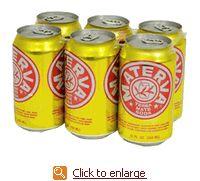 MATERVA Yerba Mate Soda 6-Pack Cans 12 oz