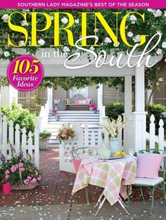 Southern Lady Spring in the South 2017 - Now Available!