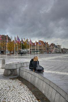 T Zand Square - Brugge, Belgium