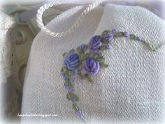 Lavanda e Lillà: Ringraziamenti e Sacchetti di Lavanda ..... Bullion knots