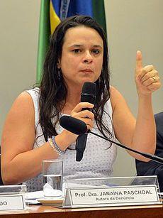 Janaina Paschoal 2016 - Janaína Paschoal – Wikipédia, a enciclopédia livre