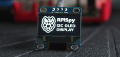 Using an I2C OLED Display Module with the Raspberry Pi