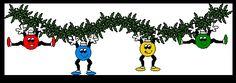 Animierte Smileys: Weihnachten - Smiley-Paradies