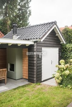 2 is so great about a void in a home? - Own Home and GardenSketch design detached houseSUMMER - Anne Laansma garden architecture Bo. Outdoor Rooms, Outdoor Gardens, Outdoor Living, Outdoor Decor, Garden Yard Ideas, Bbq Area, Garden Architecture, Backyard Retreat, Home Look