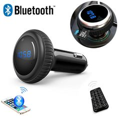 Car FM Transmitters  Car MP3 Audio Player Bluetooth FM Transmitter With Remote Control Wireless FM Modulator Car Kit HandsFree LCD Screen w/ TF Slot -- AliExpress Affiliate's Pin. Click the VISIT button to view the details