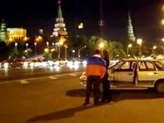 Москва 22 06 2008 3 часа ночи после матча Россия Голандия 3:1