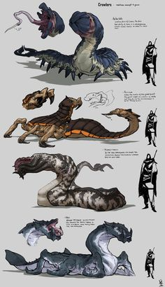 ArtStation - random creatures, David Sequeira