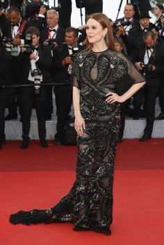 Julianne Moore in Givenchy - All the Breathtaking Looks From the 2016 Cannes Film Festival - Photos