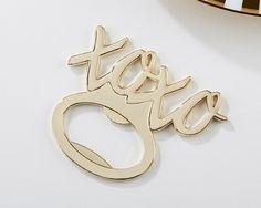 XOXO Gold Bottle Opener Favors (Kate Aspen 11300GD) | Buy at Wedding Favors Unlimited (https://www.weddingfavorsunlimited.com/xoxo_gold_bottle_opener_favors.html).