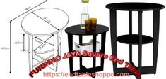 Black End Tables, Wood End Tables, End Tables With Storage, Mission Style End Tables, Latest Furniture Designs, Nesting End Tables, Sonoma Oak, Pvc Tube, French Oak