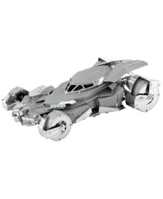 Fascinations Batman v Superman: Dawn of Justice Batmobile Metal Earth Laser Cut Model Kit, Multicolor Batman Vs Superman Batmobile, Superman Movies, Lego Batmobile, Earth 3d, Metal Earth, Metal Model Kits, Metal Models, Transformers, Mickey Mouse