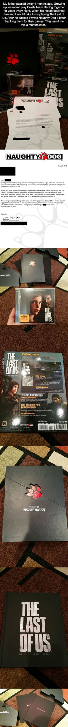 Naughty Dog Reaches out to Fan Who Shared The Last of Us with Passed Father