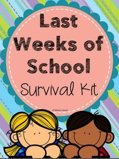 This document includes 68 pages focused on activities, worksheets, games, and more all for the last few weeks of school. Let this survival kit help you get through the last few days or weeks of school with students still having a blast! Activities include students writing a letter to their future selves, an autobiography book, letter to next year's teacher, student-created bulletin boards for next year, task cards reflecting on the year, classroom awards, a class memory book and more...