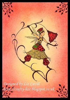 Fairy Card by Liz*** - Cards and Paper Crafts at Splitcoaststampers