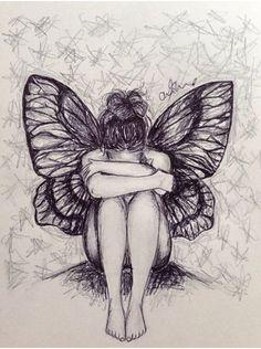 lágrimas de borboleta...