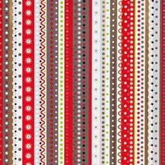 The Container Store > Graphic Stripes Gift Wrap
