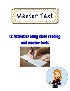 SEE VIDEO to see how I use it in my classroom:   https://www.youtube.com/watch?v=Sub3HEJs0Qw A collection of 12 texts to inspire creative writing. This easy to use teaching style has changed my life!!  There is enough material here for a full year since each activity takes about two classes, and many could be used multiple times throughout the year using different themes.