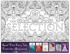 Download the free Selection series coloring page from Epic Reads!