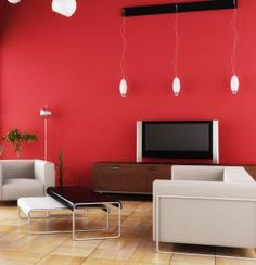 Blue accent walls in living room interior painting red for What kind of paint to use on kitchen cabinets for grand canyon wall art