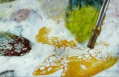 Encaustic with a Crackle Finish online class with Linda Womack    need to learn this for sure!
