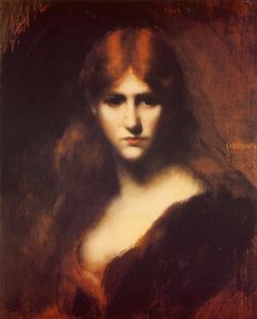 Who am I?  Jean-Jacques Henner and his redhead models