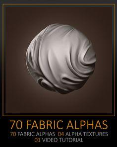 70 Facric Alphas, texture and tutorial, Celito Moura Filho on ArtStation at https://www.artstation.com/artwork/PBg6n