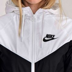 """NIKE"" Hooded Zipper Cardigan Sweatshirt Jacket Coat Windbreaker"