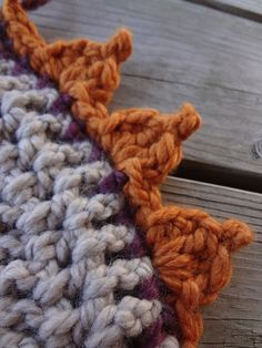 Fiber Flux...Adventures in Stitching: Free Crochet Pattern...Pumpkin Patch Edging!