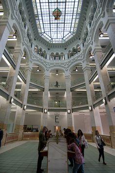 Interior del Centro Cultural Cibeles - Madrid | Flickr: Intercambio de fotos