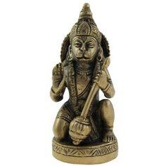 Figurine de décoration - Statue en Laiton du Dieu Hindou Hanuman: Amazon.fr: Cuisine & Maison