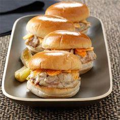 Brat Sliders Recipe from Taste of Home