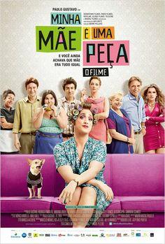 Sala 01 - Filme: Minha Mãe é uma Peça – O Filme Sessões: 19h15 e 21h15 Censura: 12 anos Características: Nacional Duração: 85 minutos
