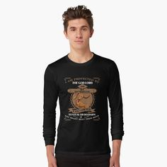 """""""I Am Protected By Dachshund Dog T-Shirt"""" T-shirt by ledungx84 