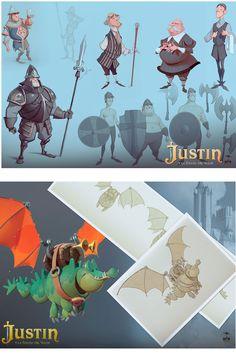 José Manuel Fernández Oli para o filme Justin y la Espada del Valor | THECAB - The Concept Art Blog