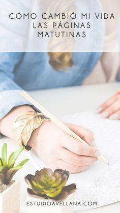 Escritura terapéutica: Las páginas matutinas